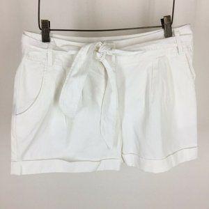Kenneth Cole women's shorts size 4  white cotton t